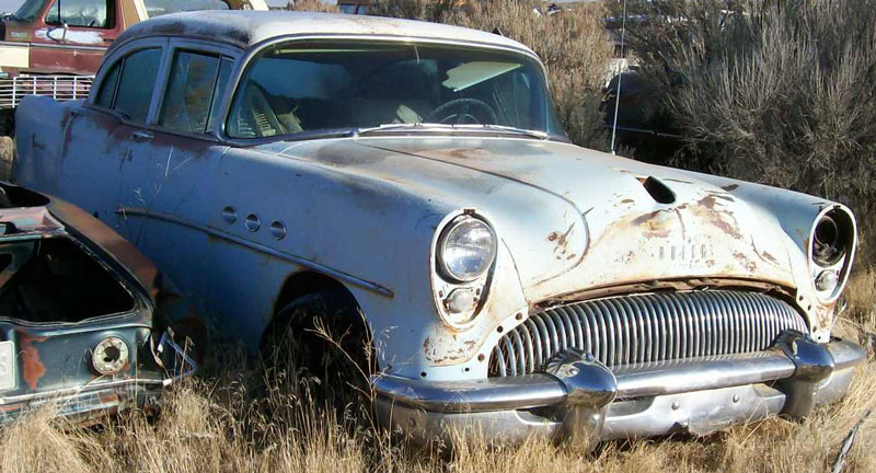 Restorable buick classic vintage cars for sale for 1955 buick special 4 door for sale