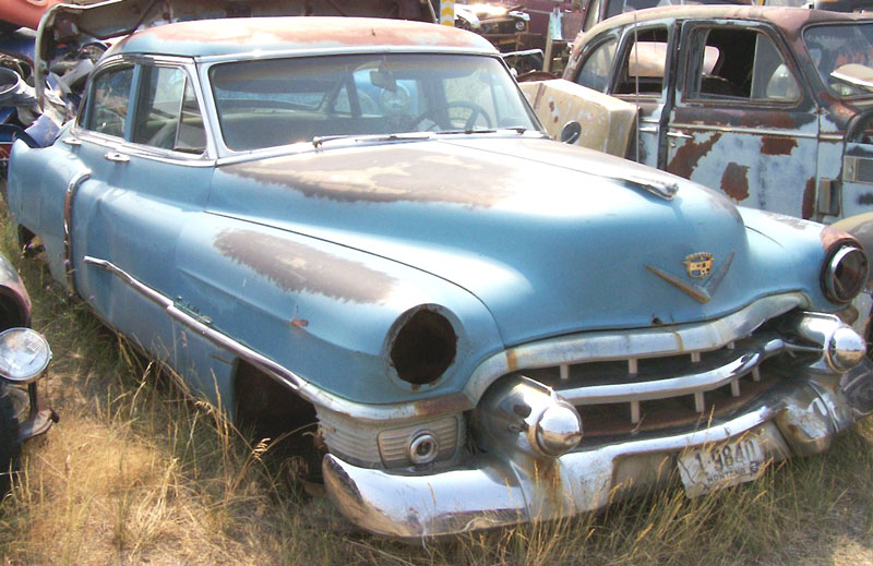 Restorable classic cadillac project cars for sale for 1953 cadillac 4 door sedan
