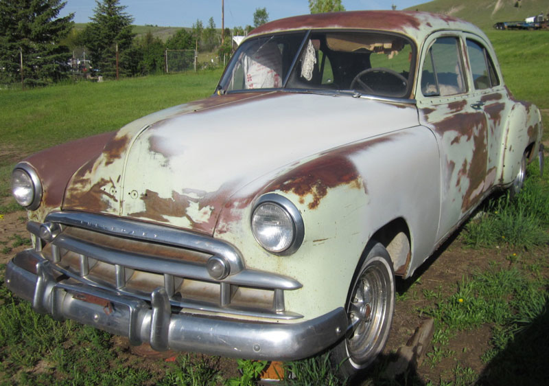 Restorable chevrolet classic and vintage cars for sale 1946 49 for 1946 chevy 4 door sedan