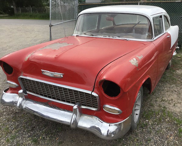 Restorable Chevrolet Classic and Vintage Cars For Sale 1955-61