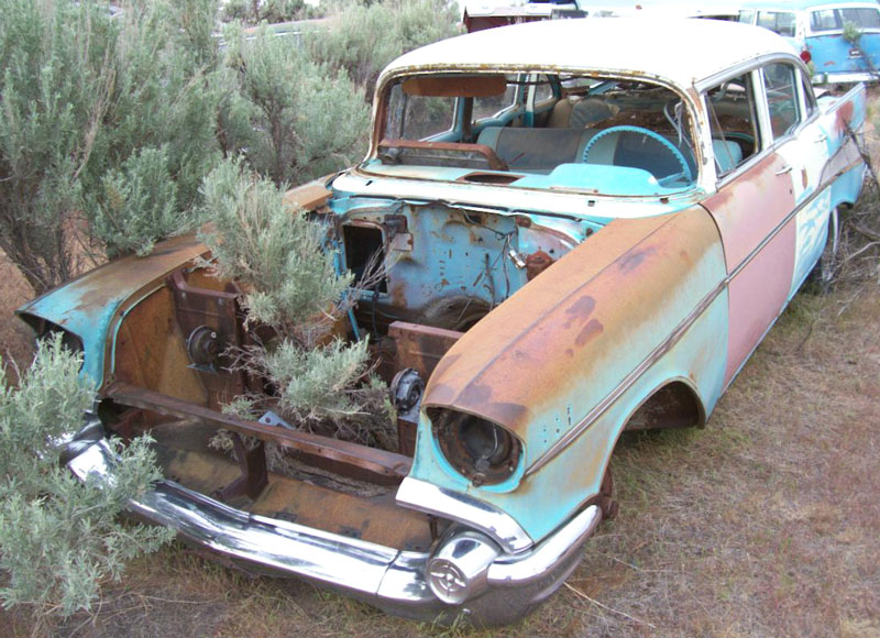 1957 Chevy Belair 4 Door Parts 4 Sale.html | Autos Weblog
