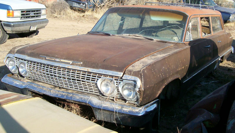 restorable chevrolet classic and vintage cars for sale 1962 65 1963 Impala 4Dr Hardtop 1963 chevrolet bel air 4 door six passenger station wagon for sale 4 500