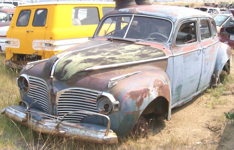 Restorable dodge classic vintage cars for sale 1915 60 for 1941 dodge 4 door sedan