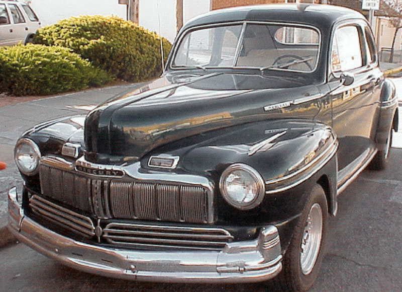 Restored and original mercury classic and vintage cars for for 1946 mercury 4 door sedan