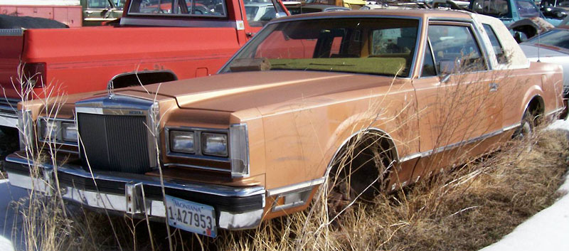 1980 Lincoln Continental 2 Door Town Coupe For Sale