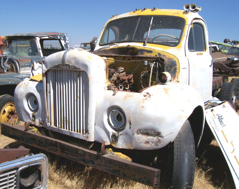 1956 Mack Model B63 Diesel Lwb Dual Tandem Tractor For Sale
