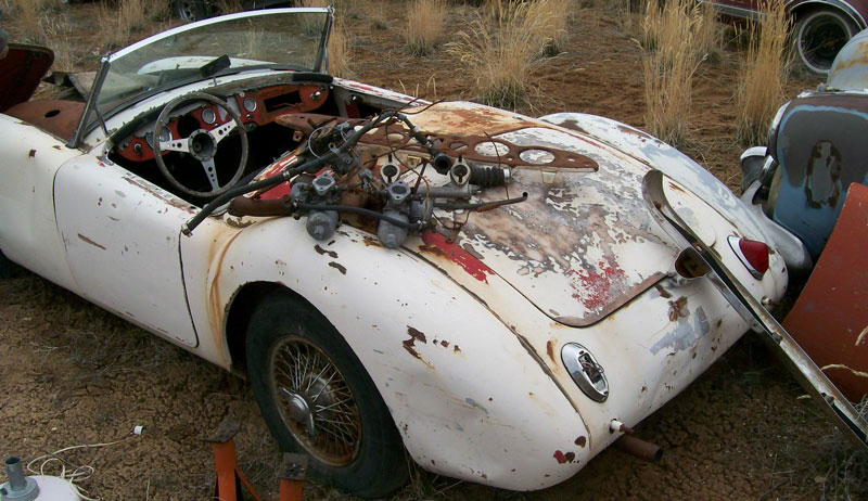 1959 Mga 1500 Wire Wheel Roadster For Sale