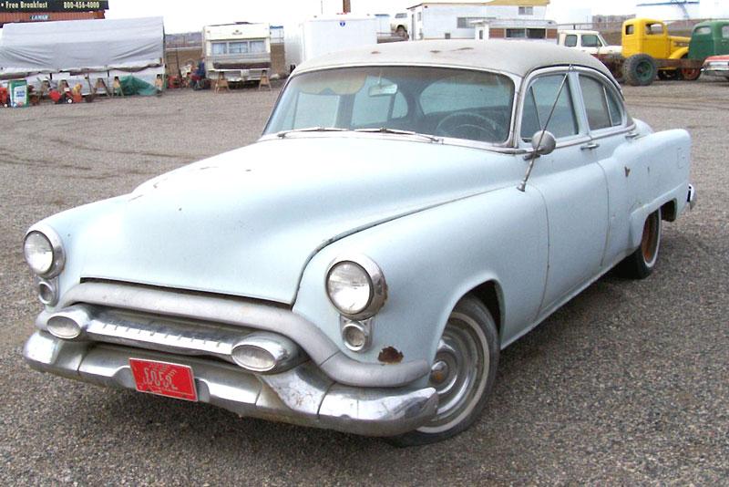 1953 Oldsmobile Super 88 Deluxe 2-door Sedan (53-3611D) retro 8-8 ...