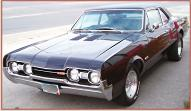 1967 Oldsmobile Cutlass Supreme 4-4-2 left front view