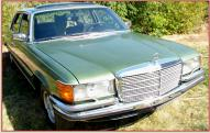 1979 Mercedes-Benz 450 SEL 6.9 Liter S-class European model luxury sedan right front view