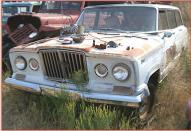 1964 Willys Jeep J-100 4X4 Wagoneer station wagon left front view