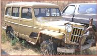 1956 Willys Jeep Model 475 1/2 ton utility wagon right front view