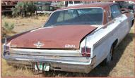 1963 Oldsmobile Starfire 2 door hardtop right rear view for sale $6,500