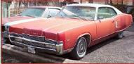 1970 Mercury Marauder X-100 2 Door Hardtop left front view