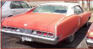 1970 Mercury Marauder X-100 2 Door Hardtop right rear view