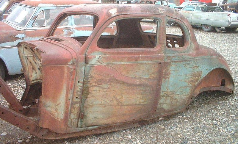 1936 Plymouth P2 Business Coupe Hot Rod Body For Sale