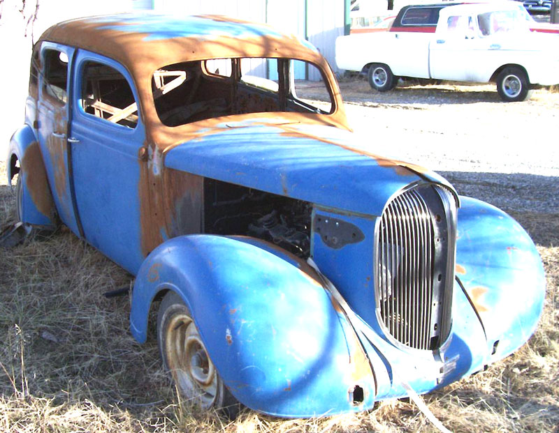 1938 Plymouth Road King P5 4 Door Sedan Hot Rod For Sale