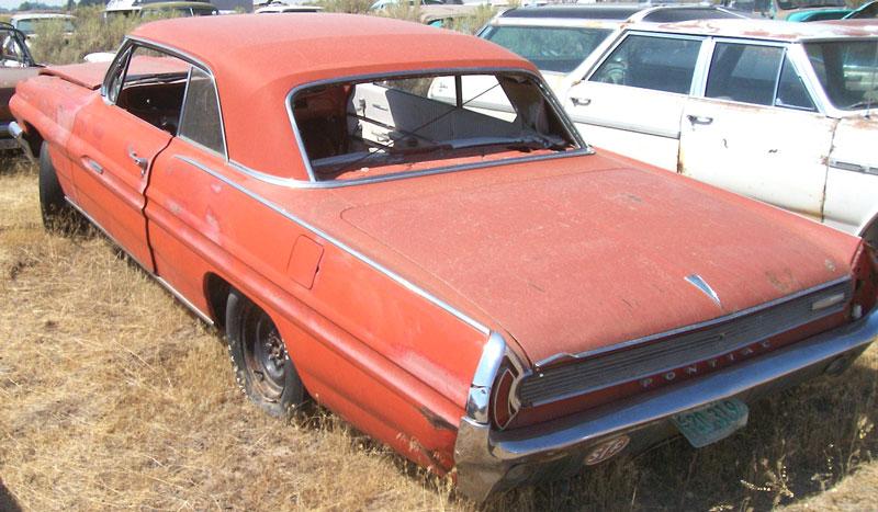 1962 Pontiac Grand Prix 2 Door Hardtop 4 Speed Car For Sale