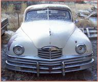1948 Packard Super Eight Standard 4 door sedan front view