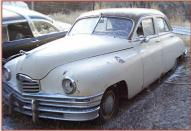 1948 Packard Super Eight Standard 4 door sedan left front view
