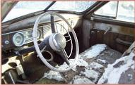 1948 Packard Super Eight Standard 4 door sedan left front interior view