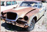 1957 Studebaker Golden Hawk 2 Door Hardtop with Parts Car For Sale parts car left front view