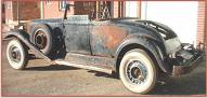 1932 Packard Ninth Series Model 903 convertible coupe left side view