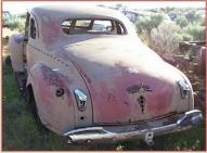 1941 Plymouth P11 Deluxe 2 door 5 window business coupe left rear view