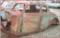1936 Plymouth P2 Business Coupe Hot Rod Body left front view