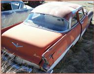 1956 Plymouth Savoy V-8 optioned 2 door post sedan right rear view