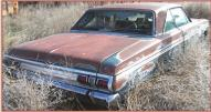 1965 Plymouth Sport Fury 2 door hardtop with 383 CID Commando V-8 right rear view