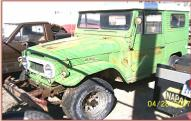 1963 Toyota FJ40L 4X4 Land Cruiser left front view
