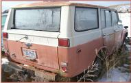 1972 Toyota FJ55 4X4 Land Cruiser station wagon right rear view
