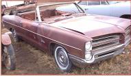 1966 Pontiac Catalina convertible right front view for sale $2,200