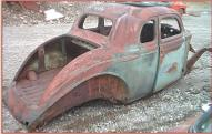 1936 Plymouth P2 Business Coupe Hot Rod Body right rear view