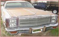 1977 Plymouth Fury Salon 4 door sedan right front view