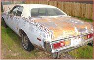 1977 Plymouth Fury Salon 4 door sedan left rear view