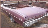 1966 Pontiac Catalina convertible left rear view for sale $2,200