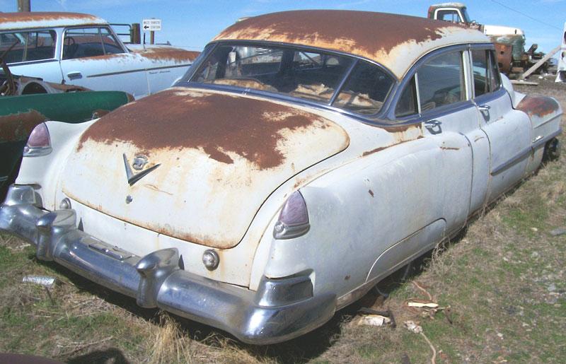 1950 Cadillac Series 62 4 Door Sedan For Sale