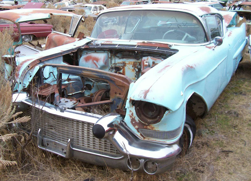 1957 Cadillac Coupe DeVille 2 Door Hardtop For Sale