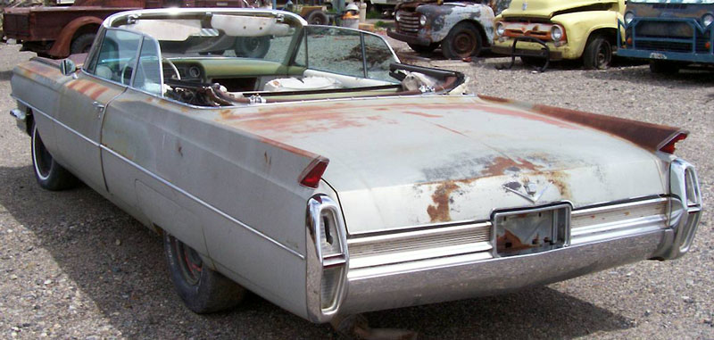 1964 Cadillac Series 62 DeVille Convertible For Sale