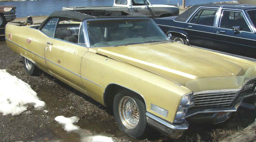 1967 Cadillac DeVille Convertible For Sale