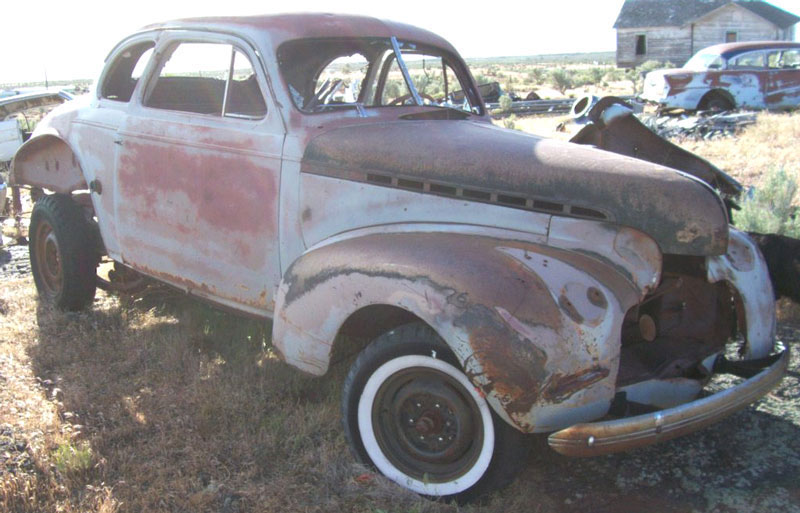 1940 Chevrolet Master Six 5 Window Business Coupe For Sale