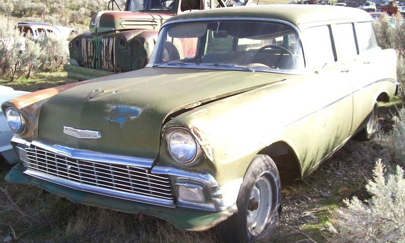 1956 chevrolet 210 six passenger 4 door station wagon for sale for 1956 chevy 4 door for sale