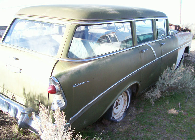 1956 Chevrolet 210 Six Passenger 4 Door Station Wagon For Sale