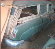 1952 Buick Super Woodie Station Wagon right rear view for sale $14,000