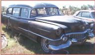 1954 Cadillac Hess & Eisenhart Model 54-430 Hearse right front view
