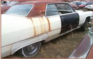 1966 Cadillac Coupe DeVille 2 Door Hardtop right rear view