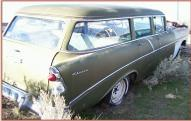 1956 Chevrolet 210 Six Passenger 4 Door Station Wagon For Sale $3,500 right rear view