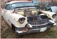 1955 Cadillac Coupe DeVille 2 Door Hardtop right front view